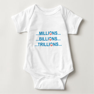 MILLION BILLION TRILLION TEE SHIRT