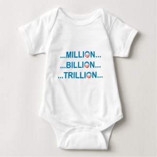 MILLION BILLION TRILLION TSHIRTS