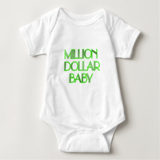 MILLION DOLLAR BABY BABY BODYSUIT