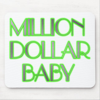 MILLION DOLLAR BABY MOUSE PAD