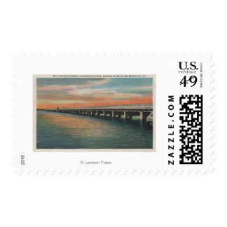 Million Dollar Bridge over Manatee River, Postage Stamp