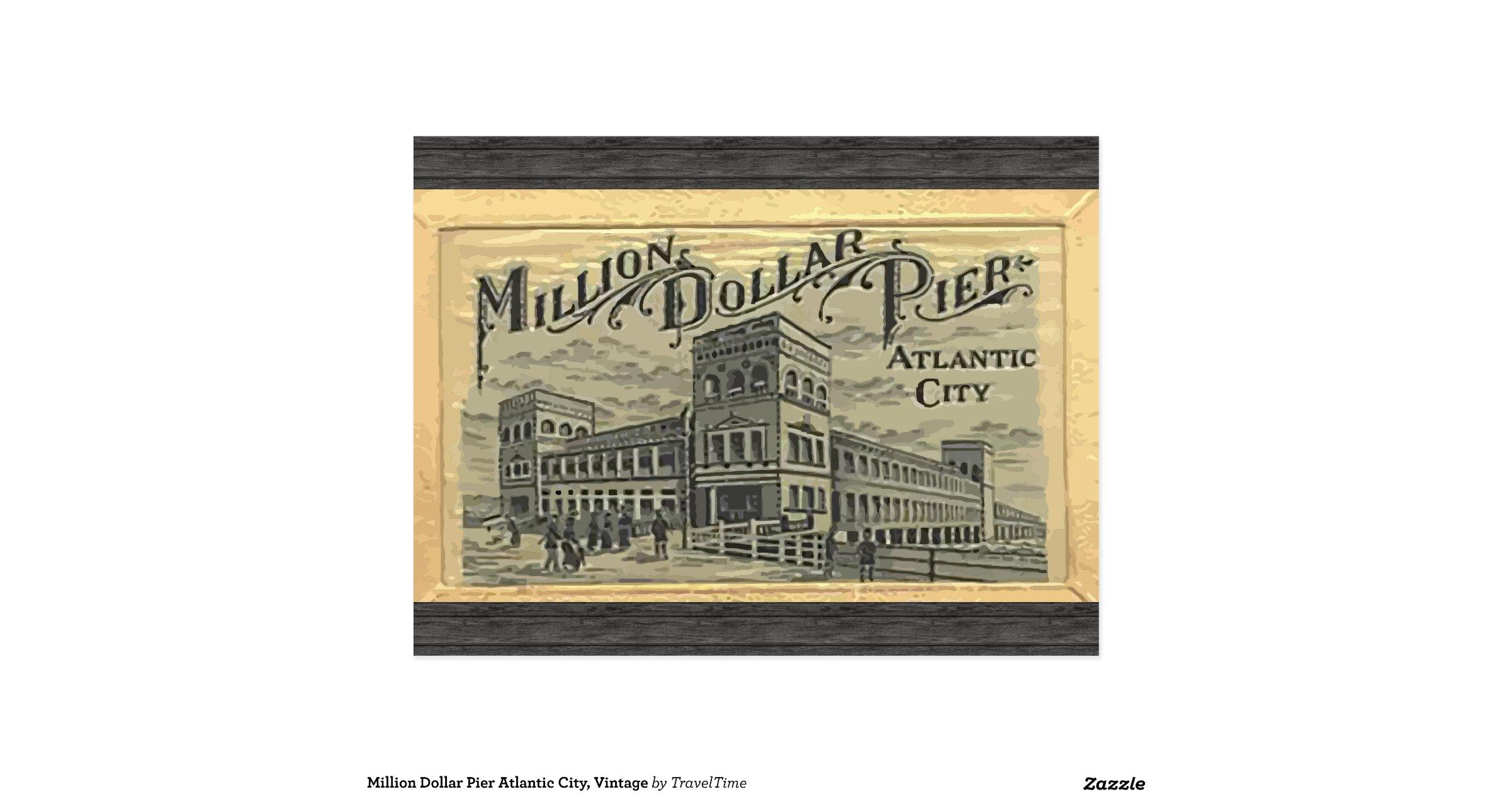 Vintage Atlantic City Pictures Million Dollar Pier