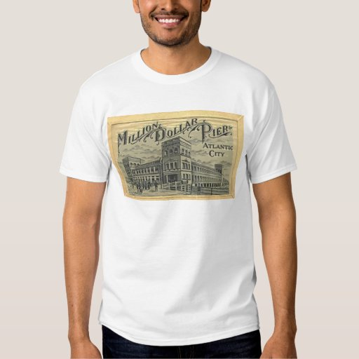 Million Dollar Pier Atlantic City, Vintage Shirt