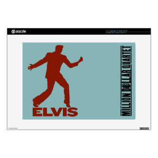 "Million Dollar Quartet Elvis 15"" Laptop Decal"