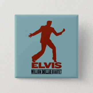 Million Dollar Quartet Elvis Button
