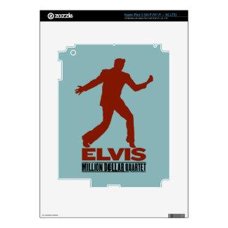 Million Dollar Quartet Elvis Decals For iPad 3