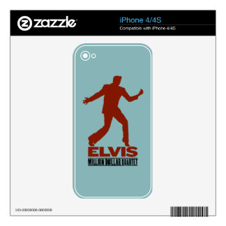 Million Dollar Quartet Elvis iPhone 4 Skin