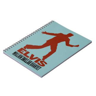 Million Dollar Quartet Elvis Spiral Note Book