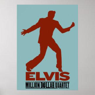 Million Dollar Quartet Elvis Poster