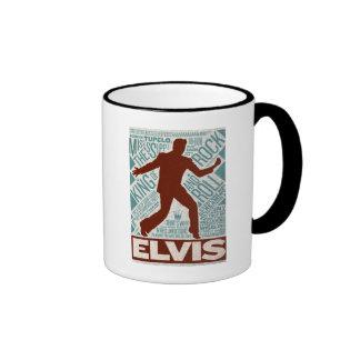 Million Dollar Quartet Elvis Type Ringer Mug