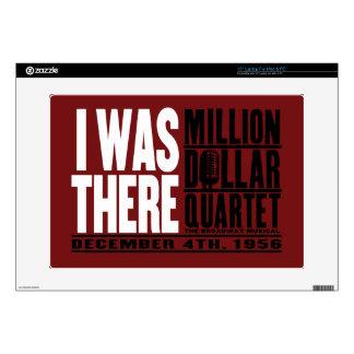 "Million Dollar Quartet ""I Was There"" 15"" Laptop Skin"