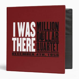 "Million Dollar Quartet ""I Was There"" Binder"