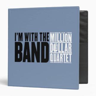 "Million Dollar Quartet ""I'm With the Band"" Vinyl Binder"