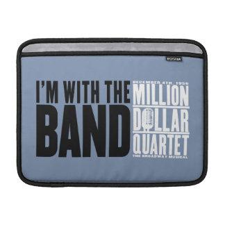 "Million Dollar Quartet ""I'm With the Band"" MacBook Sleeve"