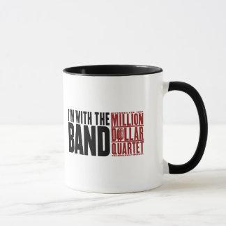 """Million Dollar Quartet """"I'm With the Band"""" Mug"""