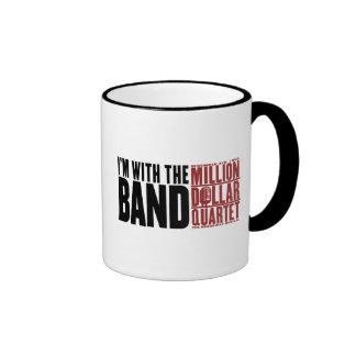 """Million Dollar Quartet """"I'm With the Band"""" Ringer Mug"""