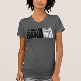 """Million Dollar Quartet """"I'm With the Band"""" Shirt"""
