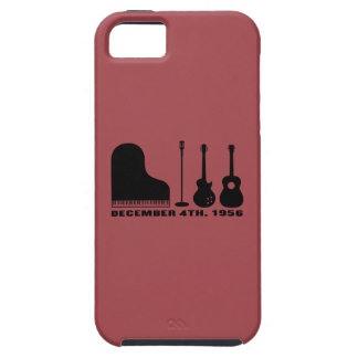 Million Dollar Quartet Instruments - Black iPhone SE/5/5s Case
