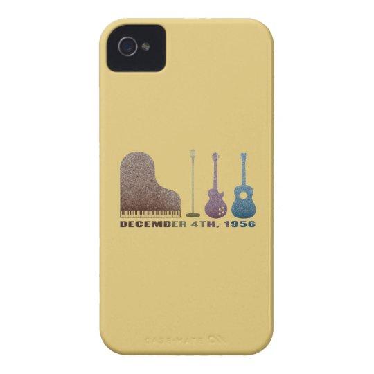Million Dollar Quartet Instruments - Color iPhone 4 Case-Mate Case