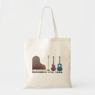 Million Dollar Quartet Instruments - Color Tote Bag