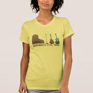 Million Dollar Quartet Instruments - Color Tshirt