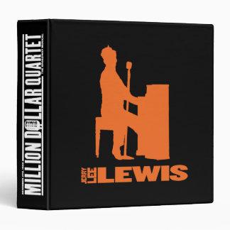 Million Dollar Quartet Lewis 3 Ring Binders