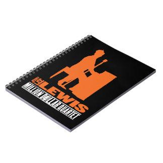 Million Dollar Quartet Lewis Spiral Note Book
