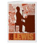 > Million Dollar Quartet Lewis Type Card