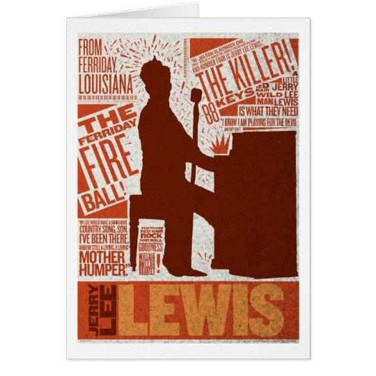 Million Dollar Quartet Lewis Type Card