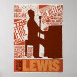 Million Dollar Quartet Lewis Type Print