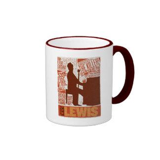 Million Dollar Quartet Lewis Type Ringer Mug
