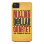 Million Dollar Quartet Logo iPhone 4 Covers