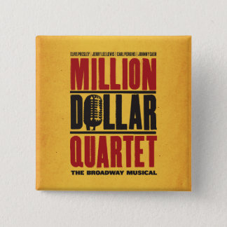 Million Dollar Quartet Logo Pinback Button