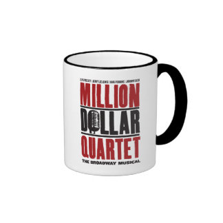 Million Dollar Quartet Logo Ringer Mug