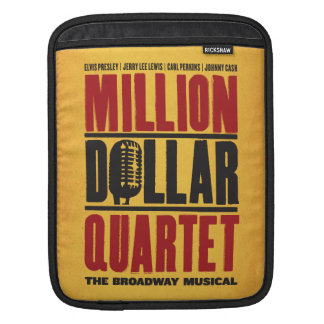 Million Dollar Quartet Logo Sleeve For iPads