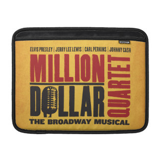 Million Dollar Quartet Logo Sleeve For MacBook Air