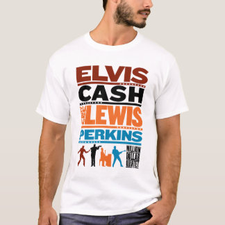 Million Dollar Quartet Names T-Shirt