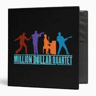Million Dollar Quartet On Stage Vinyl Binder