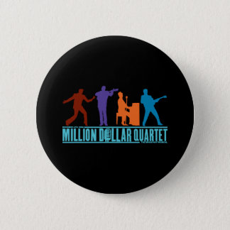 Million Dollar Quartet On Stage Pinback Button