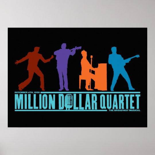Million Dollar Quartet On Stage Poster