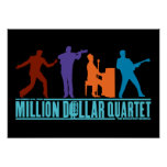 Million Dollar Quartet On Stage Posters