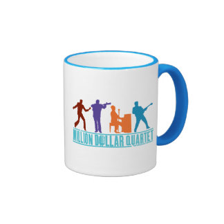 Million Dollar Quartet On Stage Ringer Mug