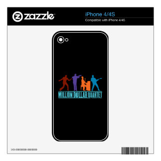 Million Dollar Quartet On Stage Skins For The iPhone 4