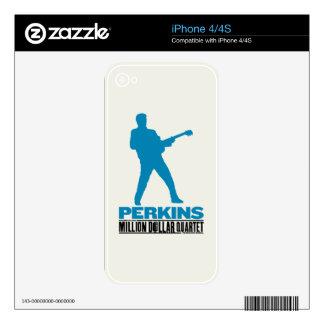 Million Dollar Quartet Perkins iPhone 4 Decal