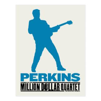 Million Dollar Quartet Perkins Postcard
