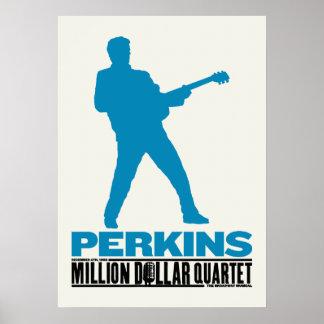Million Dollar Quartet Perkins Poster