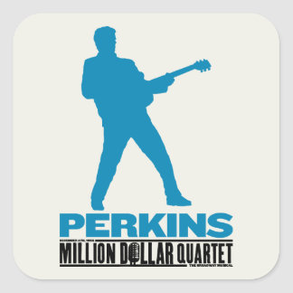 Million Dollar Quartet Perkins Square Sticker