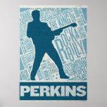 Million Dollar Quartet Perkins Type Poster