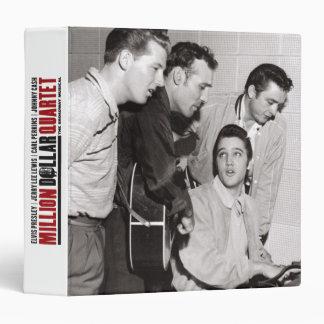 Million Dollar Quartet Photo 3 Ring Binder