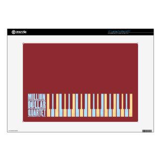 "Million Dollar Quartet Piano 15"" Laptop Skins"